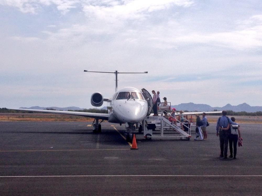 Plane back to Denver