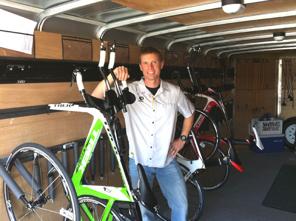 VIP bike transport, tuning, and rental. Wesley from Pro Bike Express will provide exclusive sag wagon support, tuning, and advice as you bike throughout the weekend.