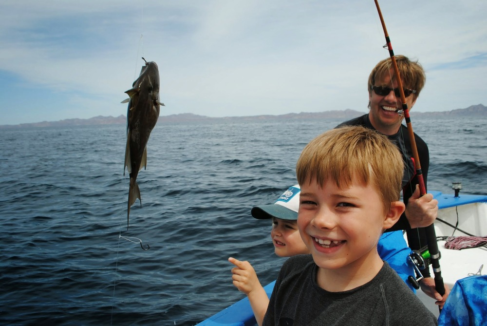 And they caught another fish in Loreto!