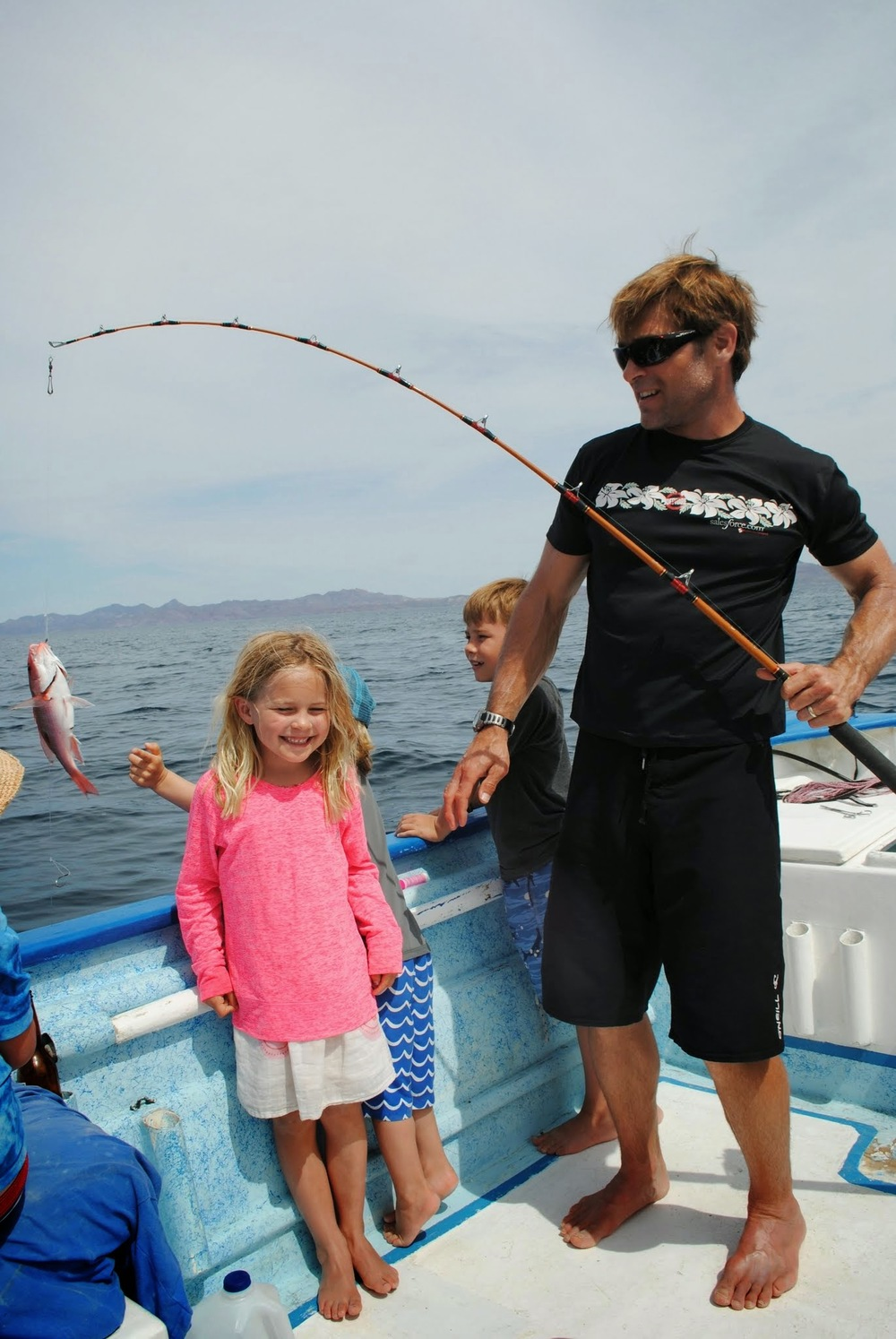 Some fun fishing in the Sea of Cortez.