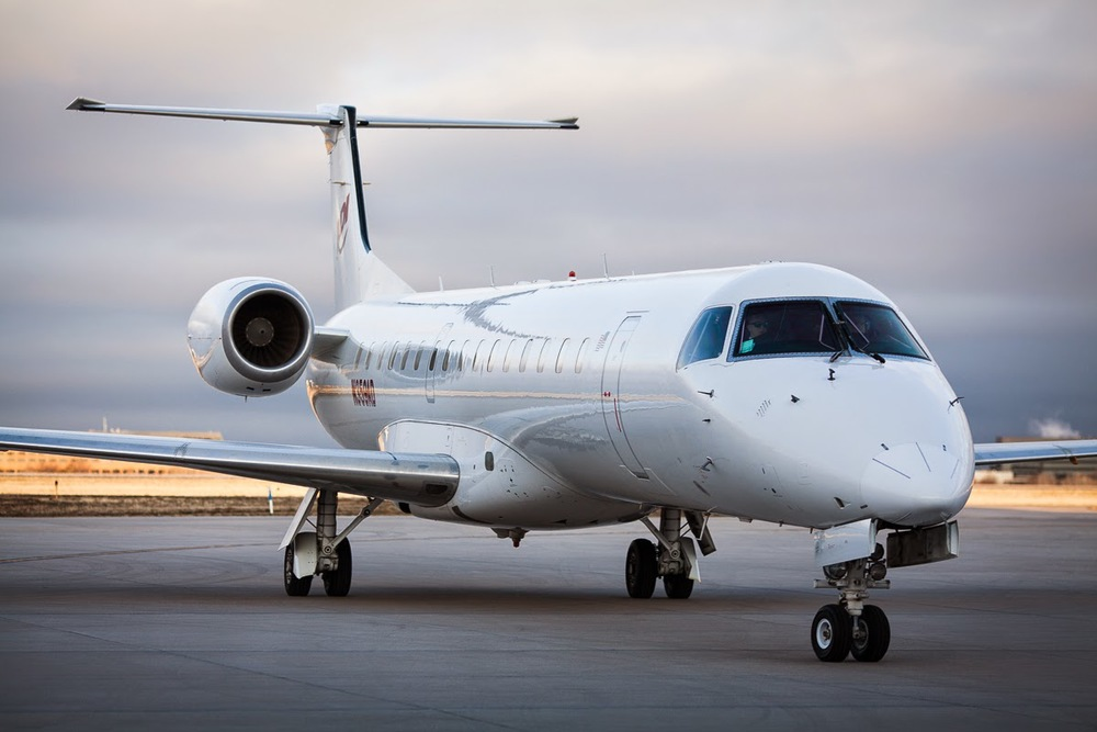 Our 50 passenger chartered jet from Denver to Loreto with ADI