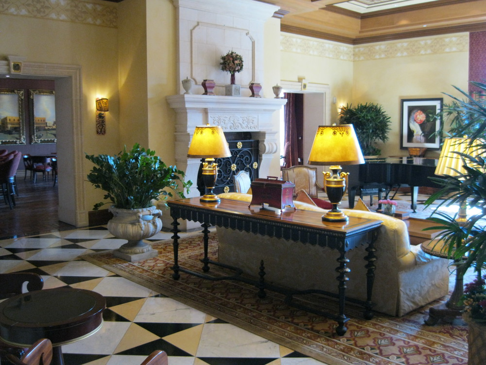 Inside the beautiful Grand Del Mar 5-star resort