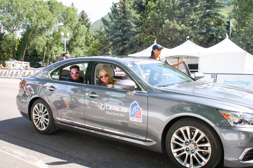 Our guests enjoyed a ride in the official race vehicles during Stage 1 of the race!