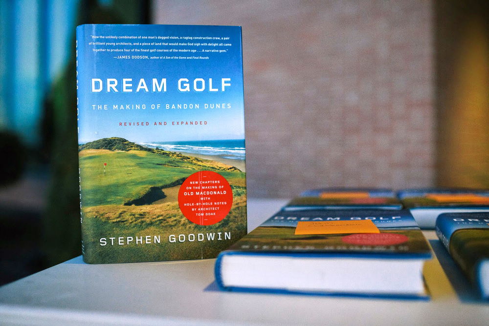 Guests were presented with this insider's guide just prior to boarding so they could prepare for Bandon's challenges.