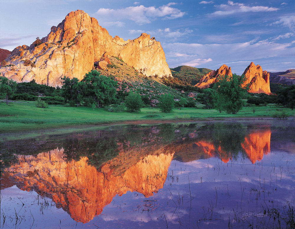 GARDEN OF THE GODS REFLECTION.jpg