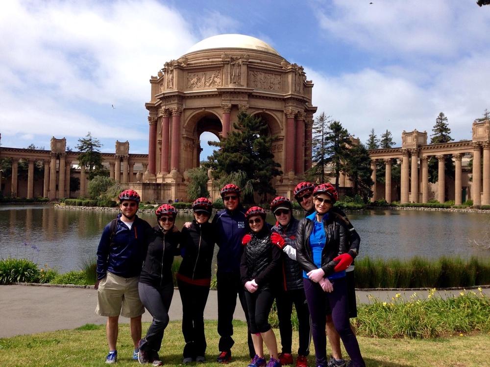 Bike ride through San Francisco