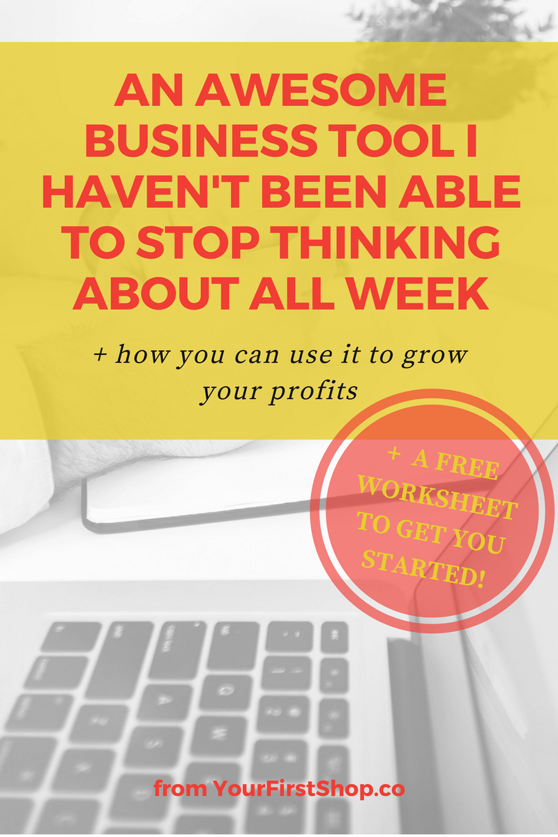 Identify your business's unique points of value to maximize your time, set you apart from your competition, and only focus on the things that will help grow your profits! I haven't been able to stop thinking about this tool, and it's something I think you'll come back to again and again as your business grows.
