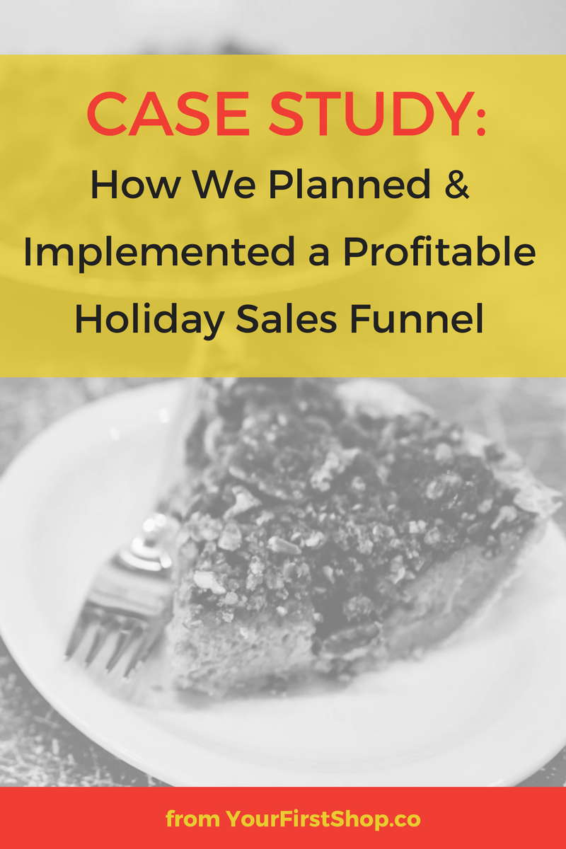 We used Facebook ads & a creative email marketing strategy to build a profitable holiday sales funnel that helped us 3x our sales numbers. This case study breaks it all down...from the type of audiences to target with your Facebook ads, to the changes I will be making to future email marketing campaigns. I cover what we did, what worked, what we learned, and exactly what I'll do differently next time. If you want to use Facebook ads and email marketing to build a profitable sales funnel to help you meet your holiday revenue goals this year -- read this post!