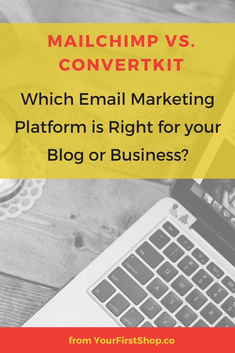 How To Choose an Email Marketing Platform for your Business: Mailchimp vs. ConvertKit