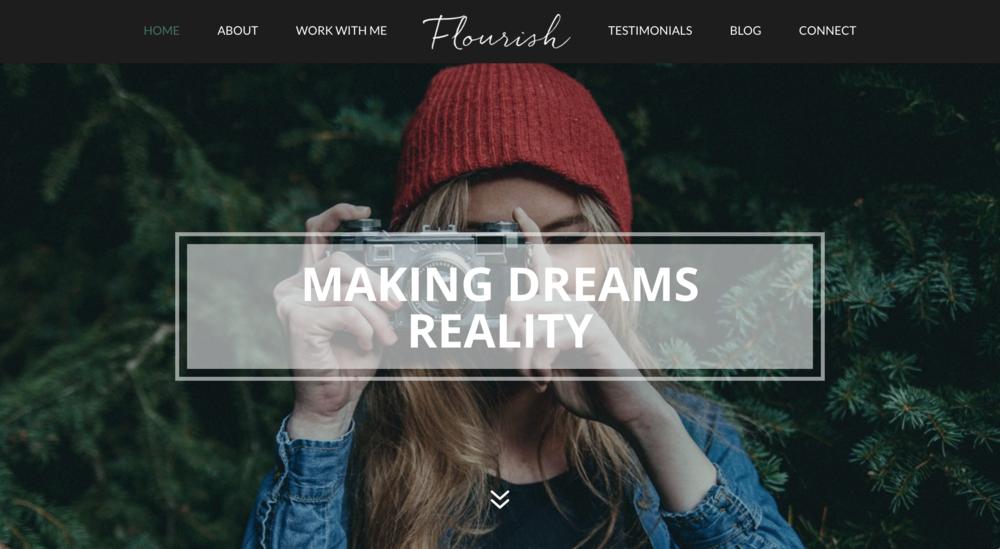 Flourish child theme for Divi WordPress