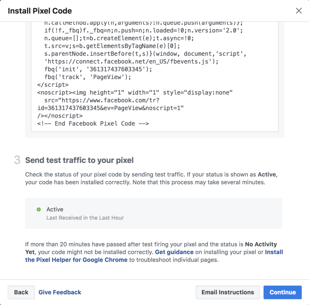 How to install the Facebook pixel on your blog or website