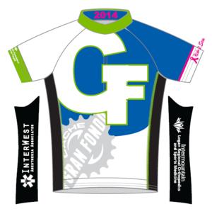 2014 Cache Gran Fondo Jersey