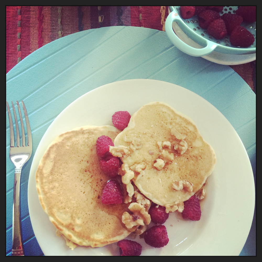 pancakes-sunday-raspberries-walnuts-asimplerdesign