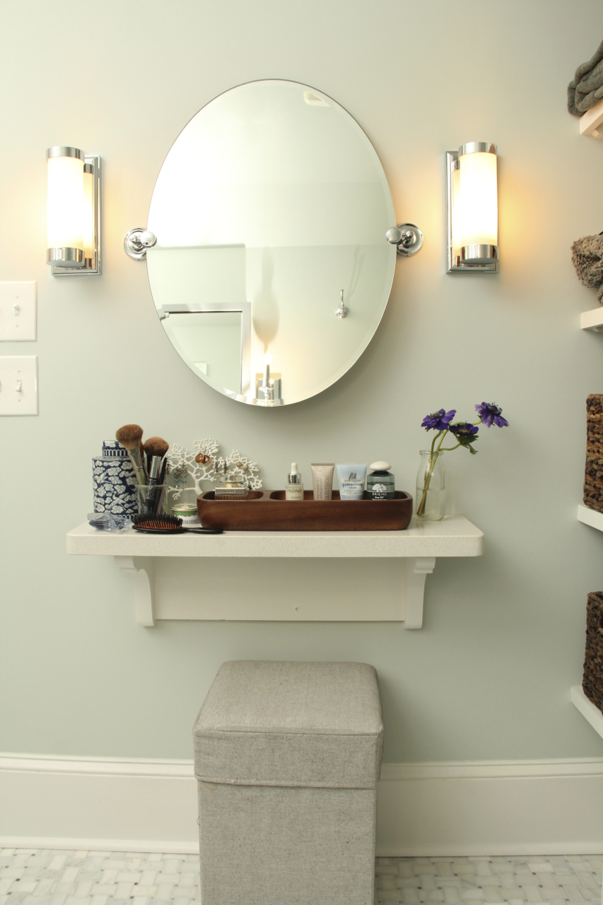 Bathroom A Simpler Design A Hub For All Things Creative STYLIST - Master bathroom sconces