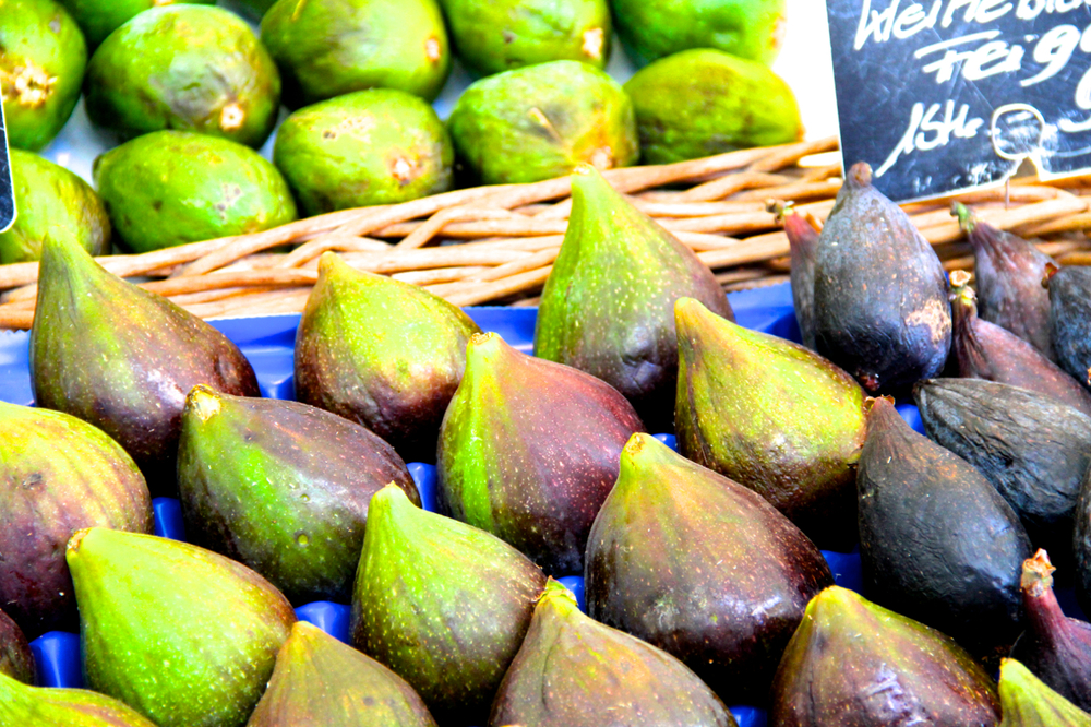 My favorite of all, the figs!