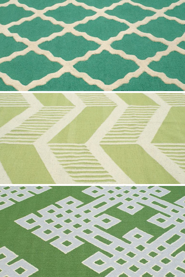 GREEN-RUGS