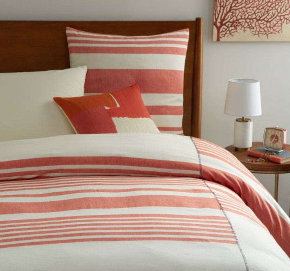 Bed Linens from  West Elm