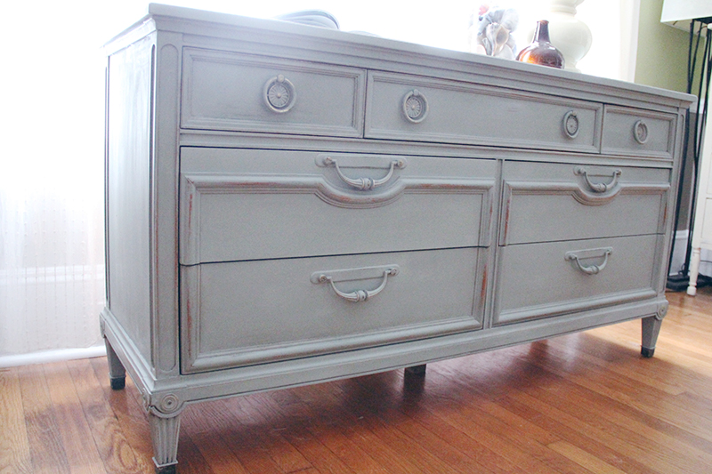 I Had The Image Of A French Provincial Style Dresser In Mind [though This  Isnu0027t A French Piece] When It Came Time To Choose The Color.