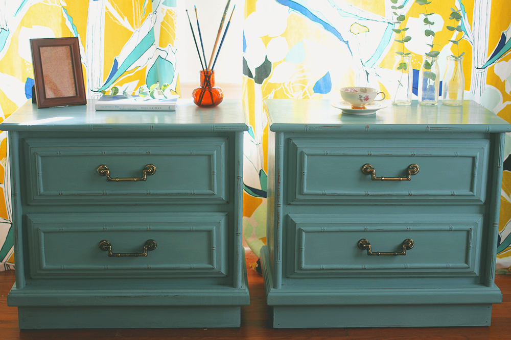 Amazing I Painted My Entertainment Center In A Very Similar Color [check It Out  Here], But I Just Love The Idea That This Bright Pop Of Blue Will Make Its  Way Into ...