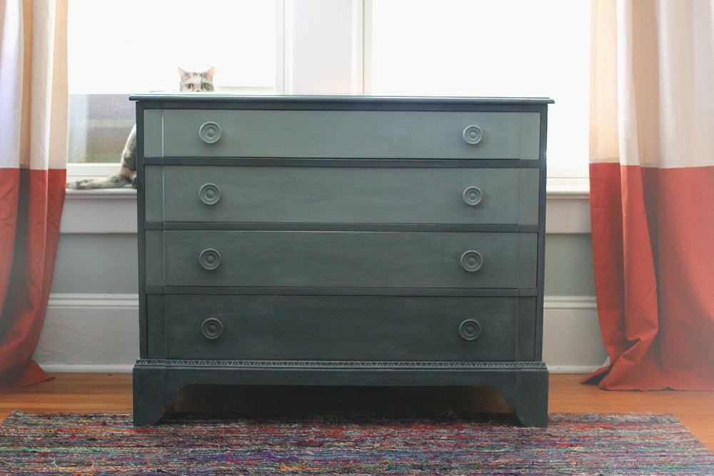 50 Shades Of Gray Dresser Ombre Paint Treatment A