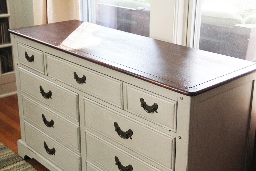 Favorite Going Gray: Paris Gray Dresser — A Simpler Design: a hub for all  QN59