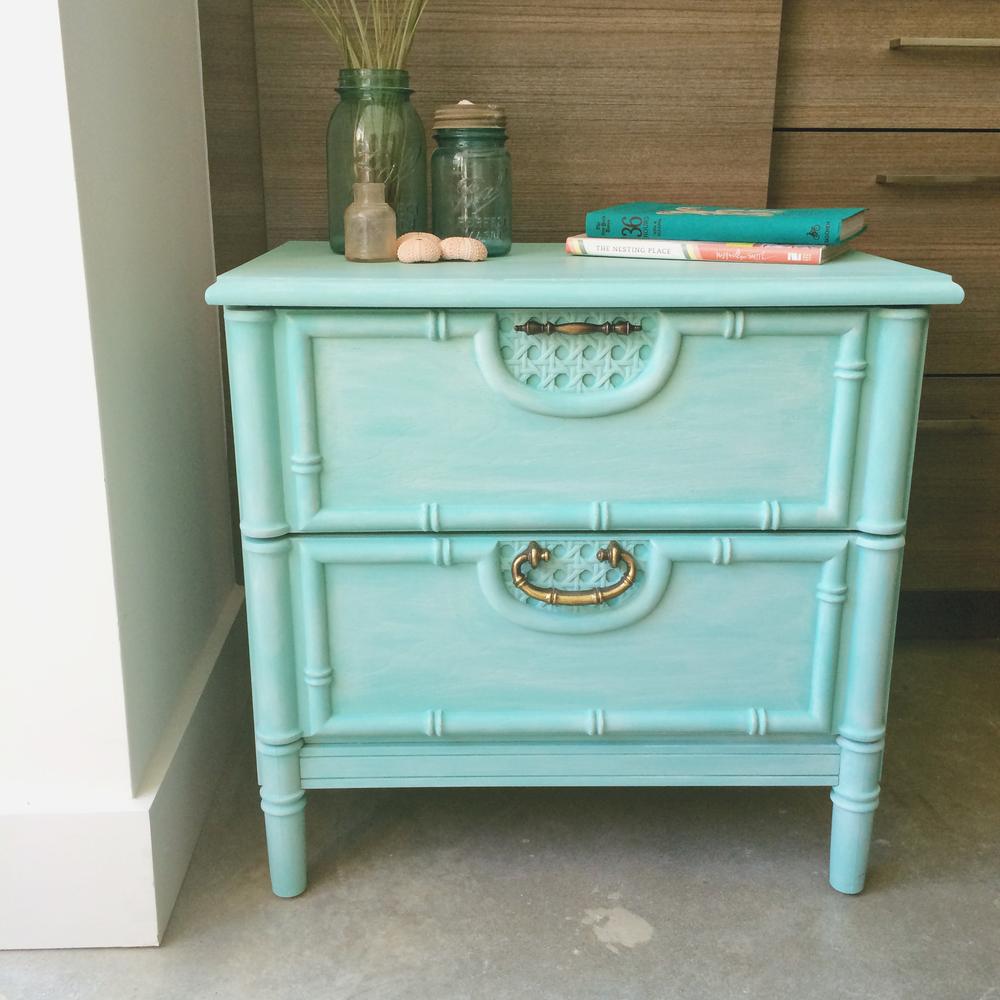 jo-torrijos-a-simpler-design-atlanta-chalk-paint-furniture-turquoise-nightstand-bamboo-4.jpg