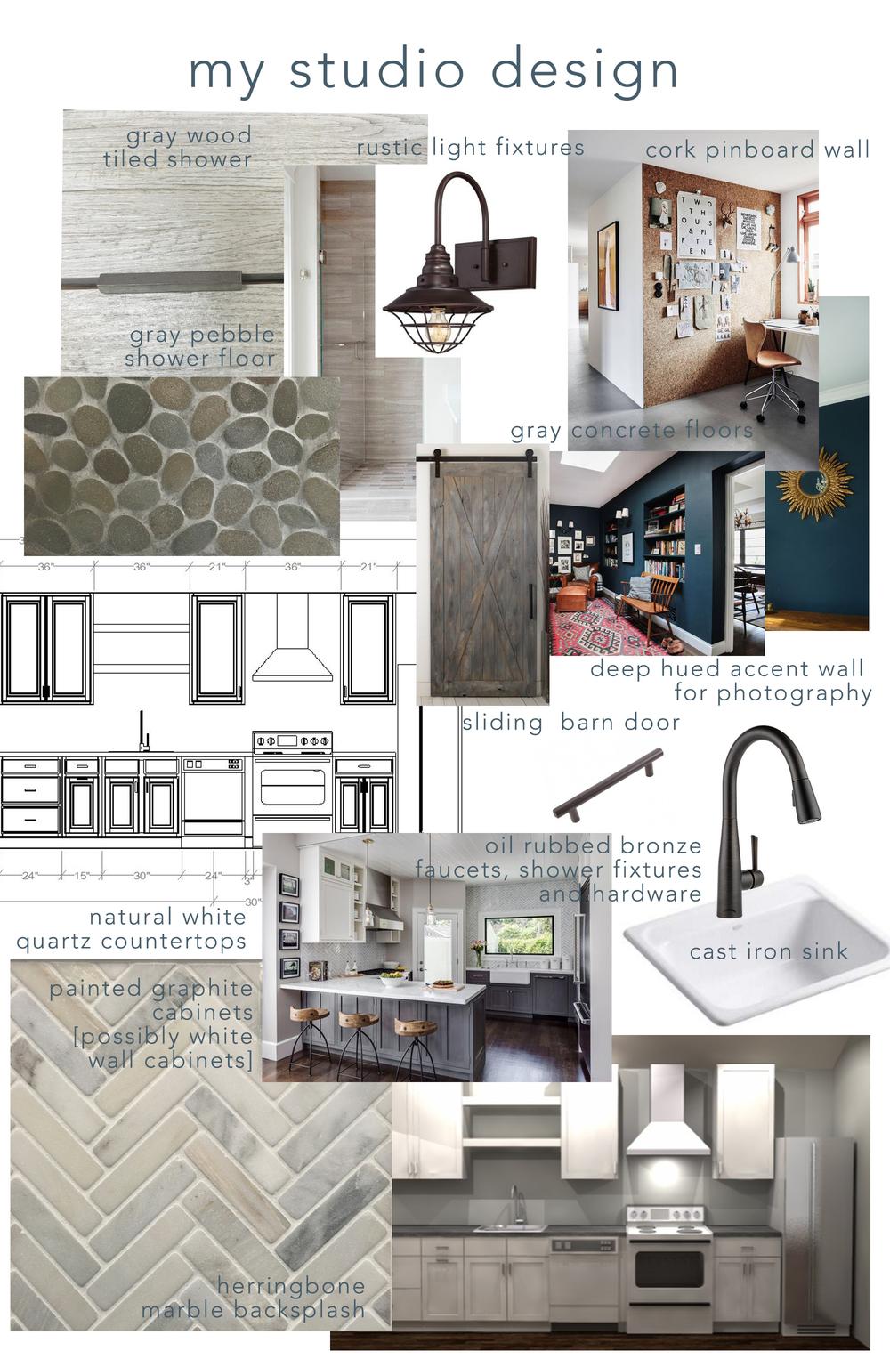 My Studio Design Ideas: modern rustic style — A Simpler Design: a ...