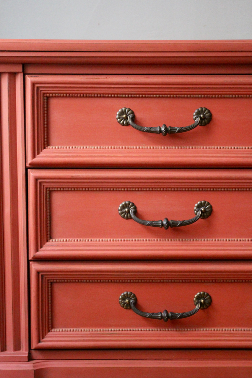 jo-torrijos-a-simpler-design-atlanta-painted-furniture-annie-sloan-barcelona-orange-scandinavian-pink-dresser-gold-details-2.jpg