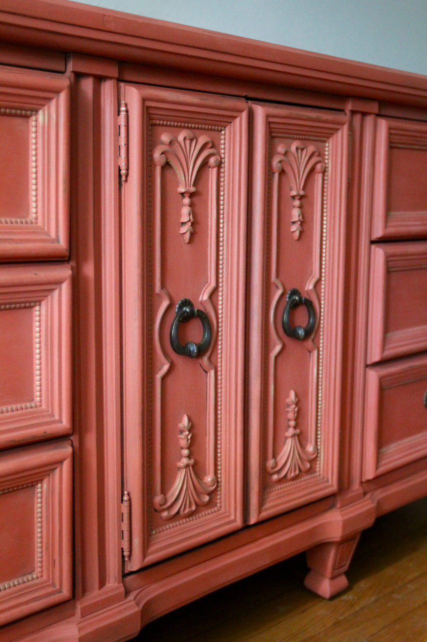 jo-torrijos-a-simpler-design-atlanta-painted-furniture-annie-sloan-barcelona-orange-scandinavian-pink-dresser-gold-details-3.jpg