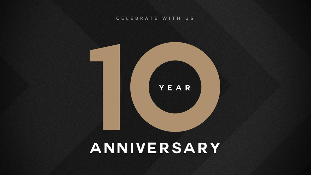 Image result for 10 year church anniversary