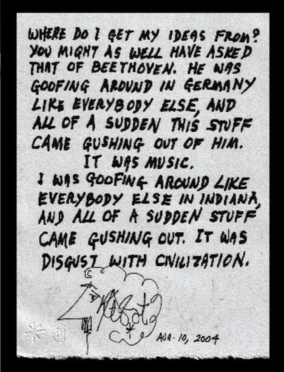 (via  Where Kurt Vonnegut Got His Ideas | Badass Digest )
