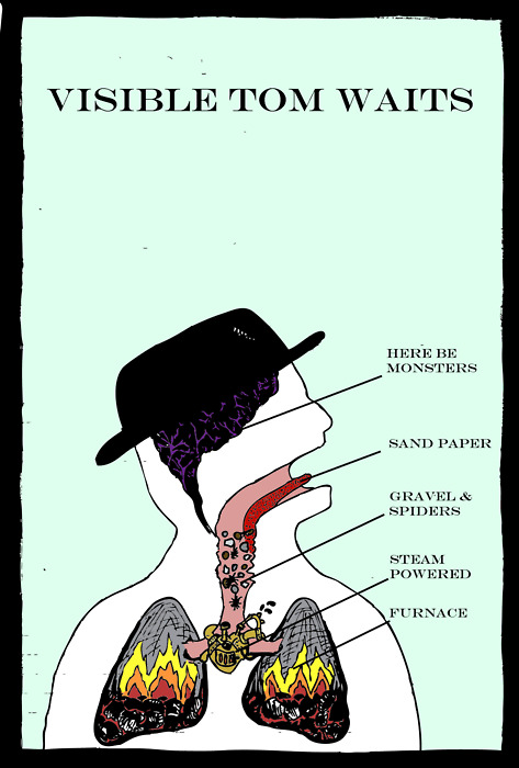 The Anatomy of Tom Waits   (via  Flavorwire » The Anatomy of Tom Waits )