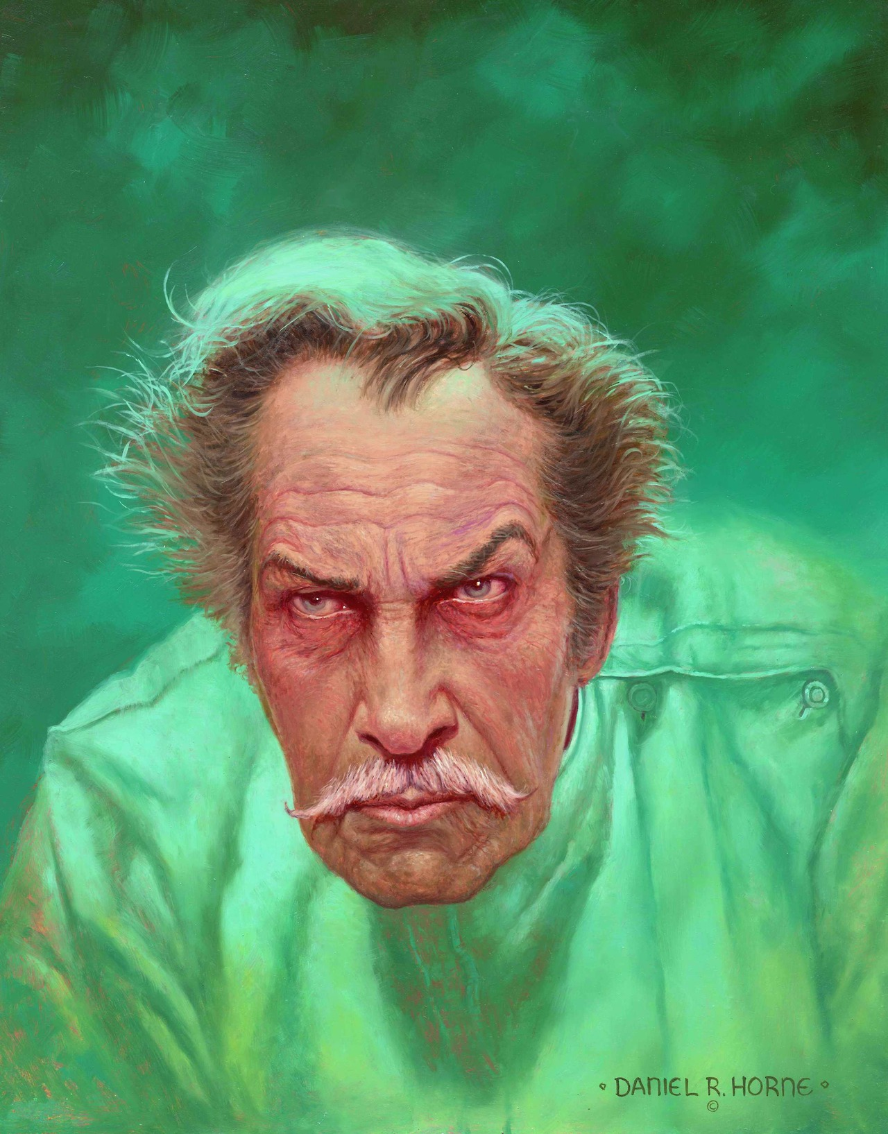 Nice    alustformonsters :      Vincent Price  by Daniel Robert Horne