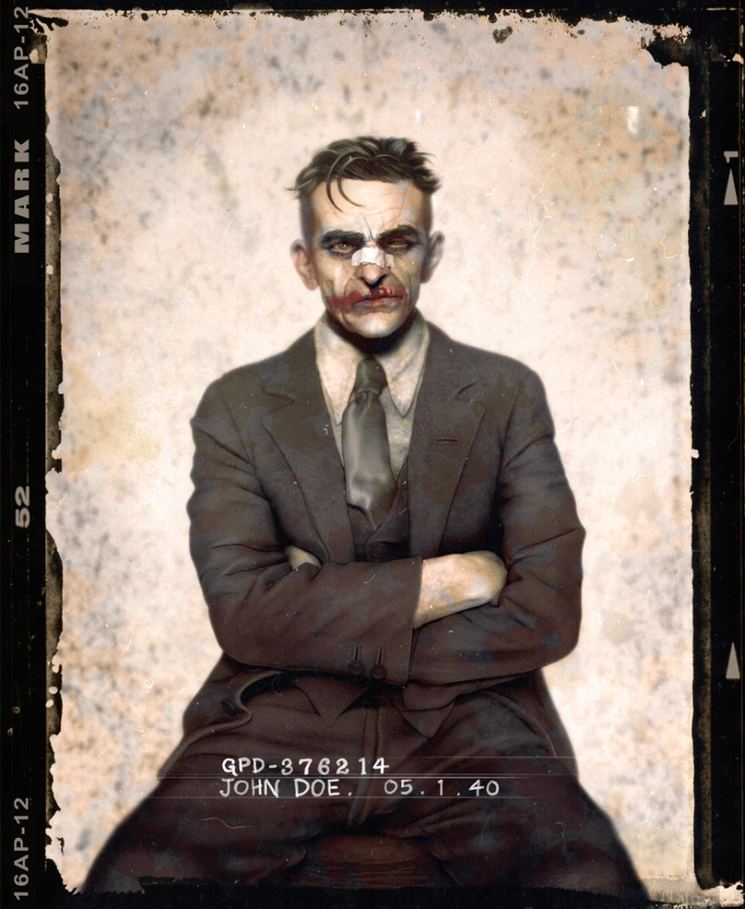 This Joker portrait is incredible. (via MTV Geek – These 1930′s Portraits Of Batman Villains Are Amazing)