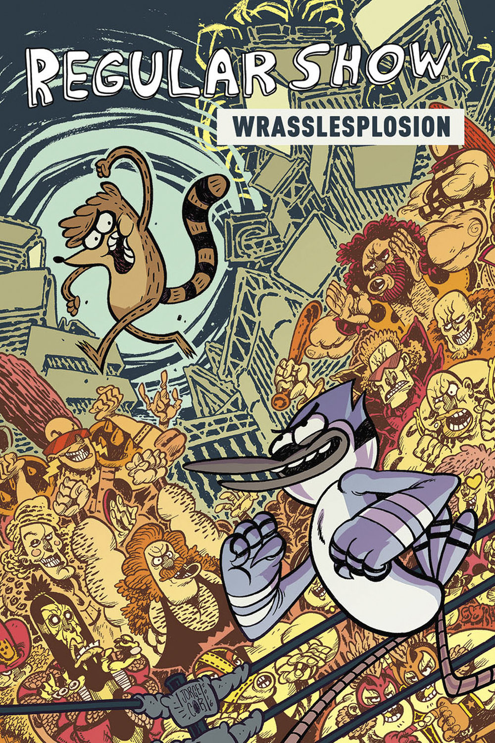 regular show - I contributed several short comics to the Regular Show comic series (based on the Cartoon Network show).