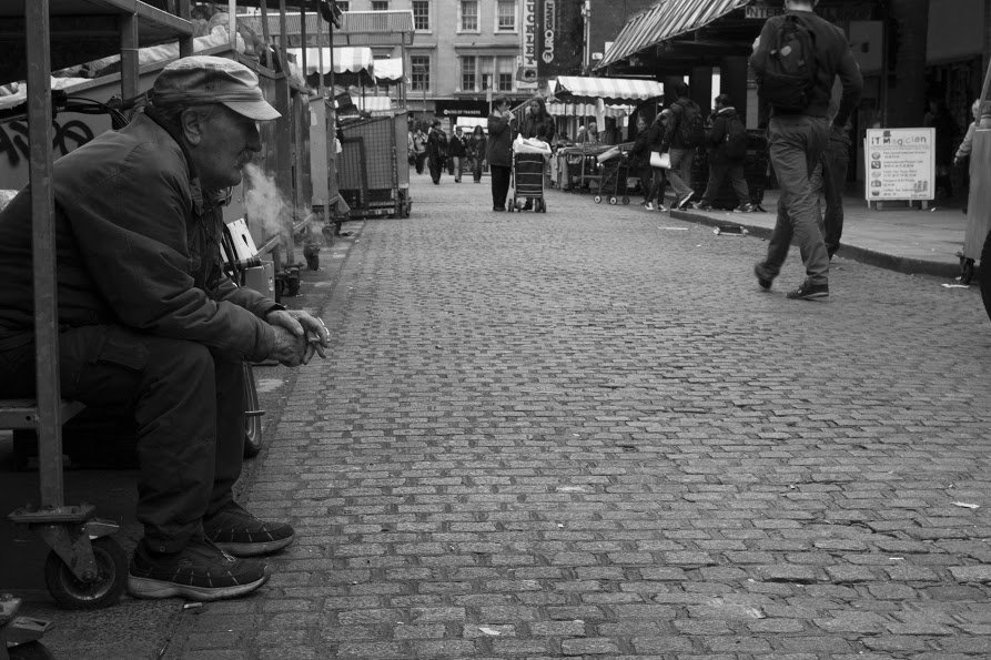 Moore Street, Dublin. 2014