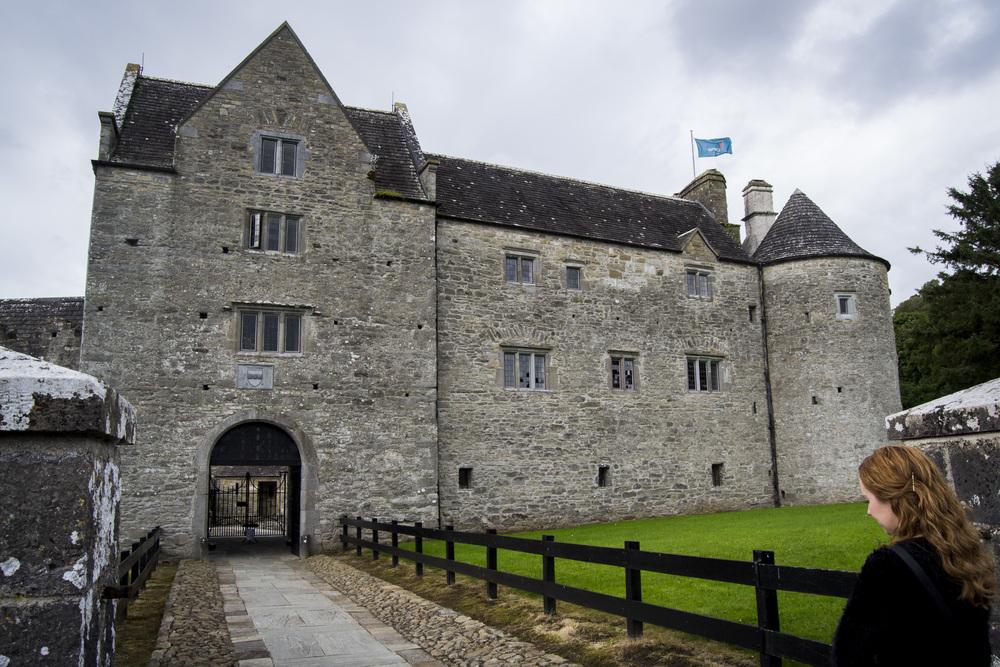 Parke's Castle entrance.