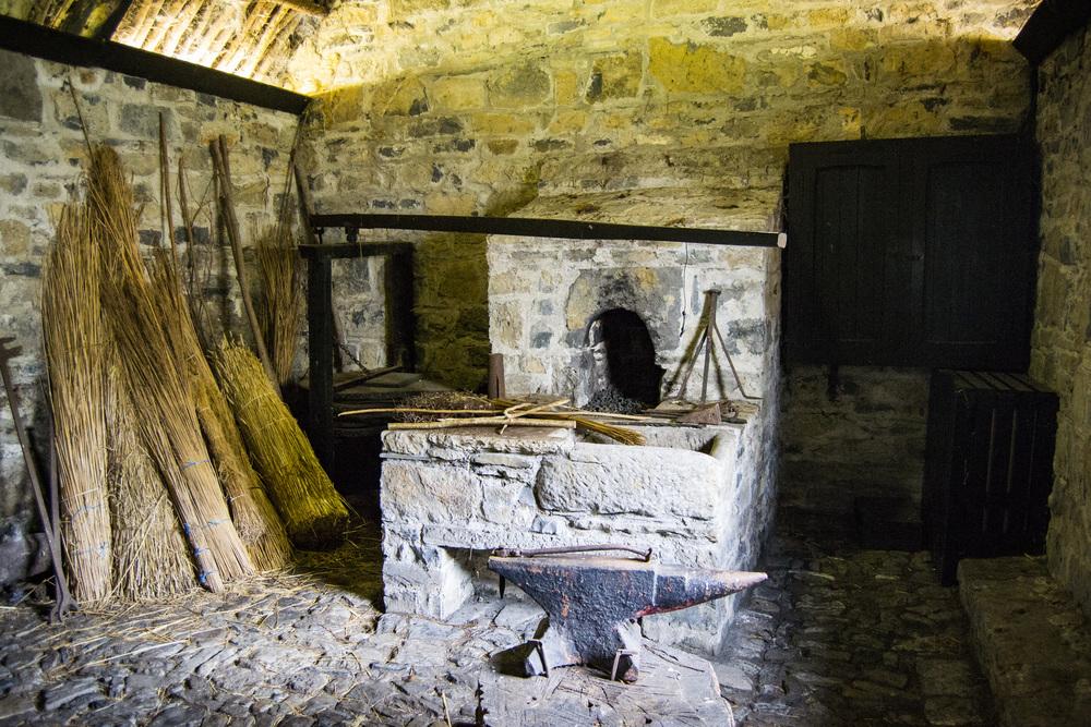 Blacksmith's Forge, Parke's Castle
