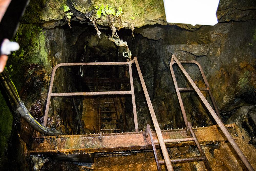 Arigna Coal Mine Air Vent Shaft.