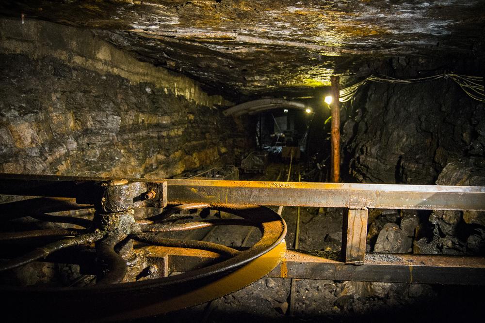 Coal Rail cart sysyem at Arigna.