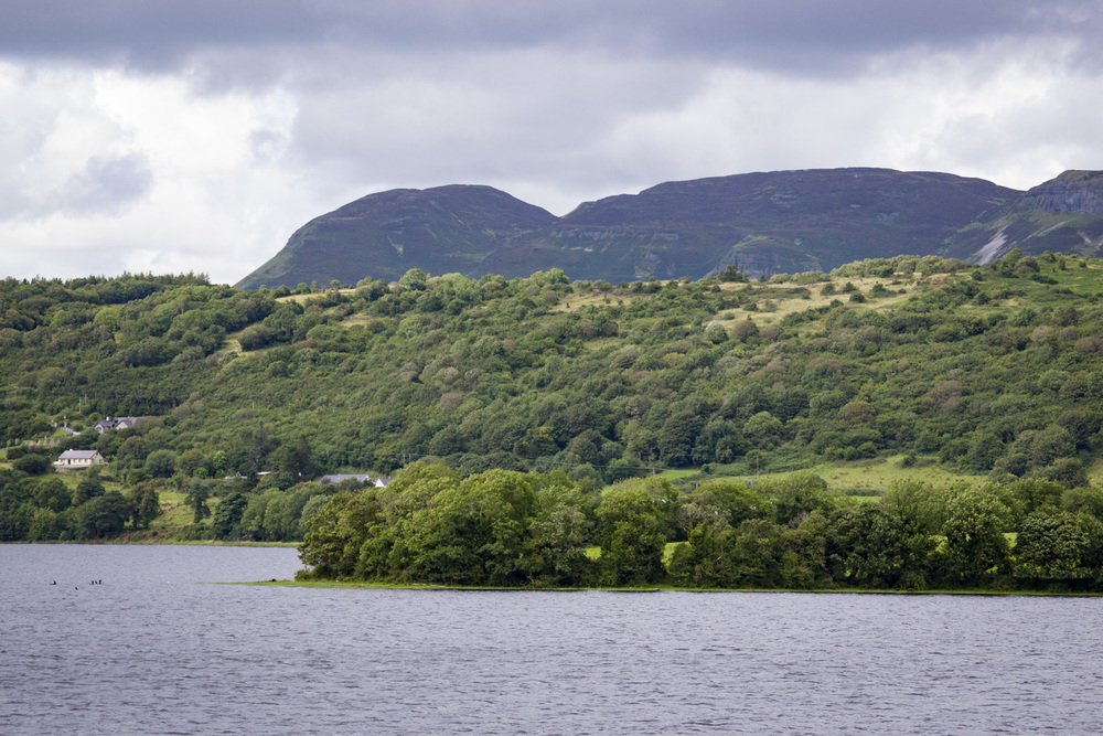 From the shores of Lough Gill.