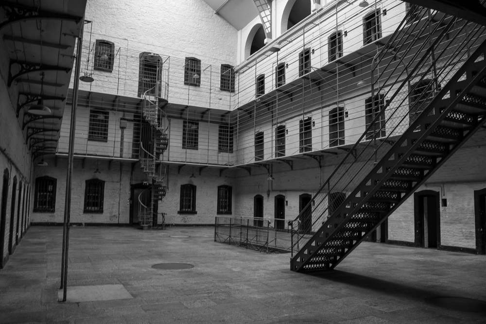 Entrance View of the East Wing, Kilmainham Gaol