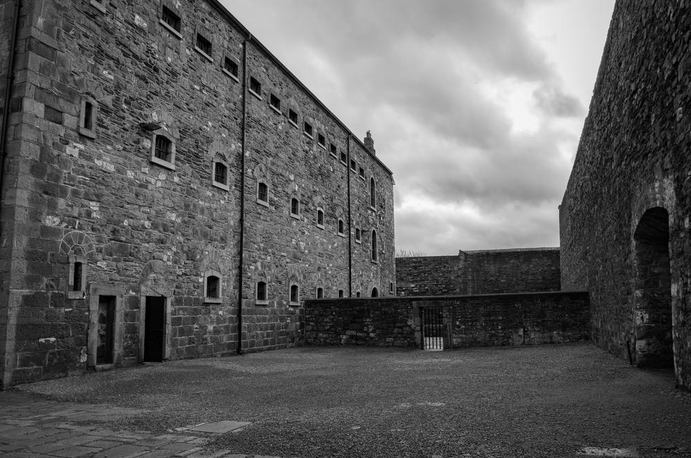 Kilmainham Gaol Courtyard