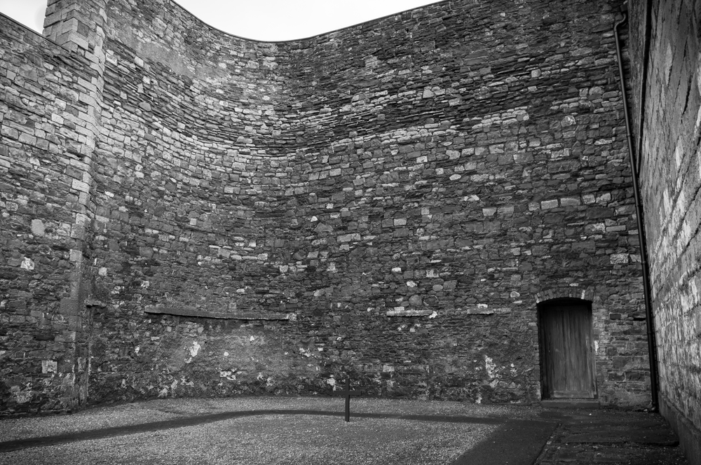 Stone Breakers Yard ,Kilmainham Gaol - Site of 1916 Executions.