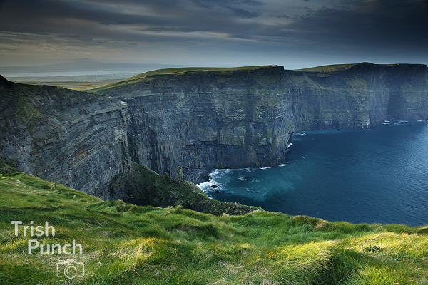 Cliffs of Moher, one of the discovery points on the Wild Atlantic Way coastal route, in Clare in Ireland.