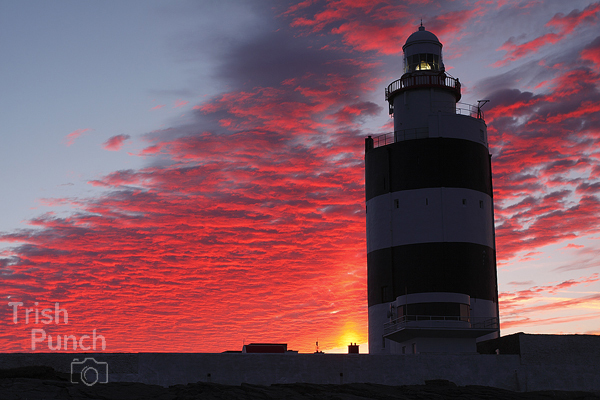 Sunrise over Hook Head lighthouse in County Wexford