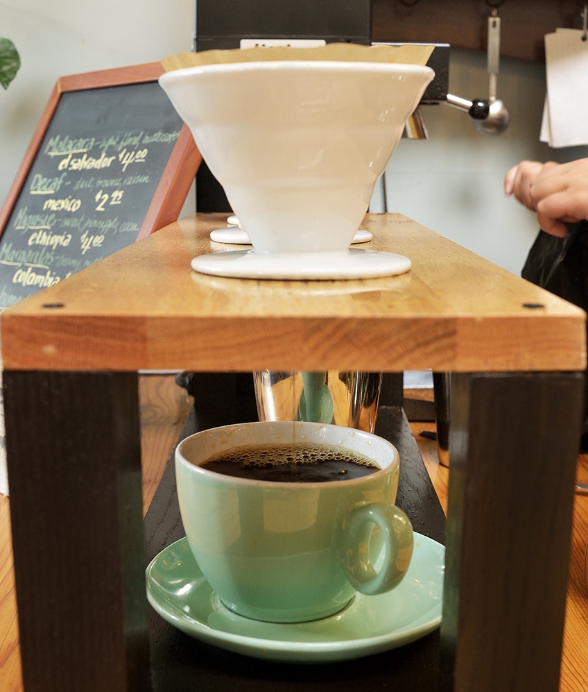 single-origin pour overs