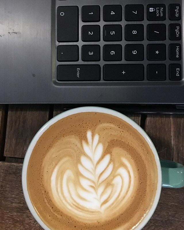 End of a busy work week? Need a late afternoon capp to get you through? Take a break from the busyness and swing by tomorrow at 1 pm for live music by Bozic Studios!  #cappuccino #latteart #coffee #livemusic #fromheretothere #responsiblysourced #handledwithcare
