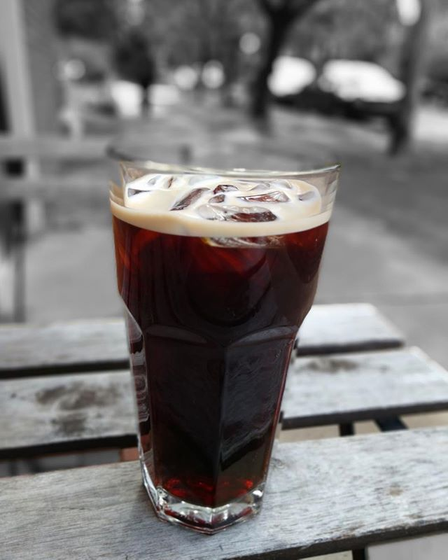 """The Jabberwock, eyes of flame, Came shuffling through the tulgey wood, And burbled as it came!"" - Alice in Wonderland by Lewis Carroll🎩// Introducing our newest cold brew for the season - Tulgey Wood - our darkest roast yet! Just in time for a spooky Halloween!! Not a cold brew fan? Try as an espresso or pour over!  #darkroast #coldbrew #pourover #espresso #specialtycoffee #thirdplace #heretothere #theretohere #tulgeywood #aliceinwonderland"