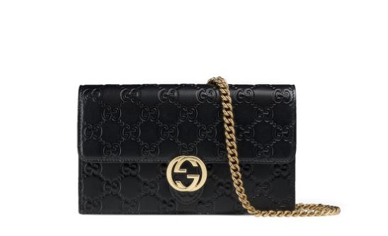 b444ce038a Gucci: Icon Guccissima Wallet on Chain — ArmGem - Rent Designer Handbags  Online